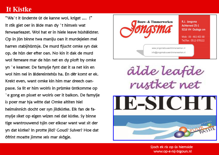 Pagina 4 It Kistke blaadje
